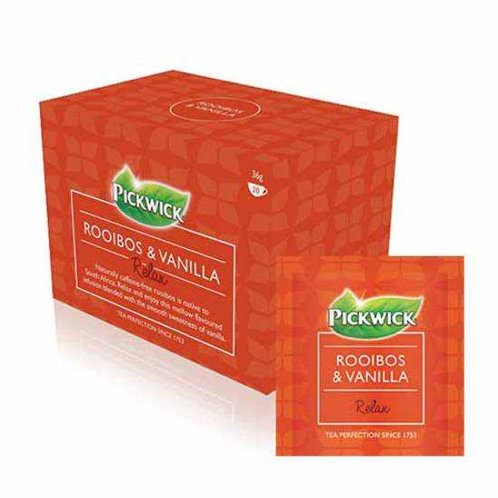 Pickwick Rooibos & Vanilla Tea Envelopes x 20