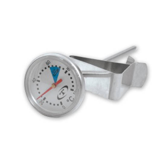 Coffee Thermometer Long 32mm Dial To Suit Milk Jug 1.5L
