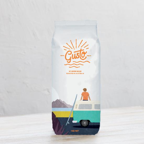 Gusto Salida del Sol Coffee Beans 1kg