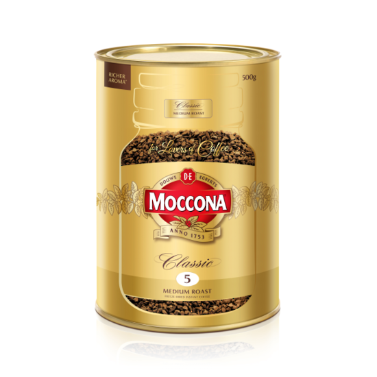 Moccona Freeze Dried Instant Coffee 500gm