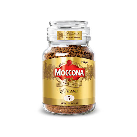 Moccona Classic Instant Coffee 100g Jar