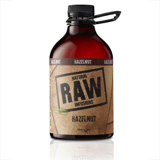 RAW Hazelnut Coffee Syrup 1000ml