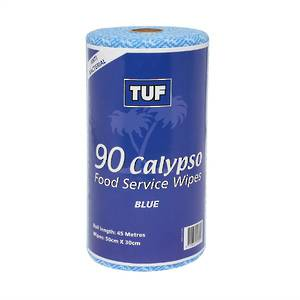 TUF Calypso Food Service Wipes Blue