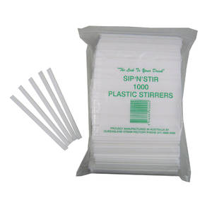 Queensland Plastic 'Sip & Stir' Stirrers x 1000